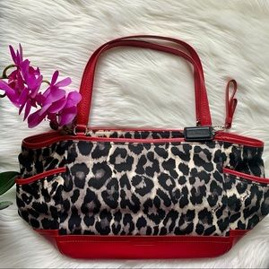 Coach - Ocelot Red Leopard Tote F23278
